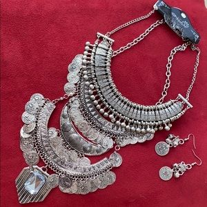 4 piece Bohemian Jewelry set